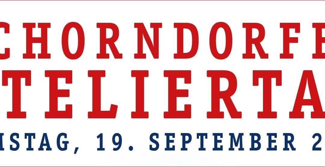 Herzliche Einladung zum Schorndorfer Ateliertag, Samstag, 19. September 2020 von 12 – 20 Uhr